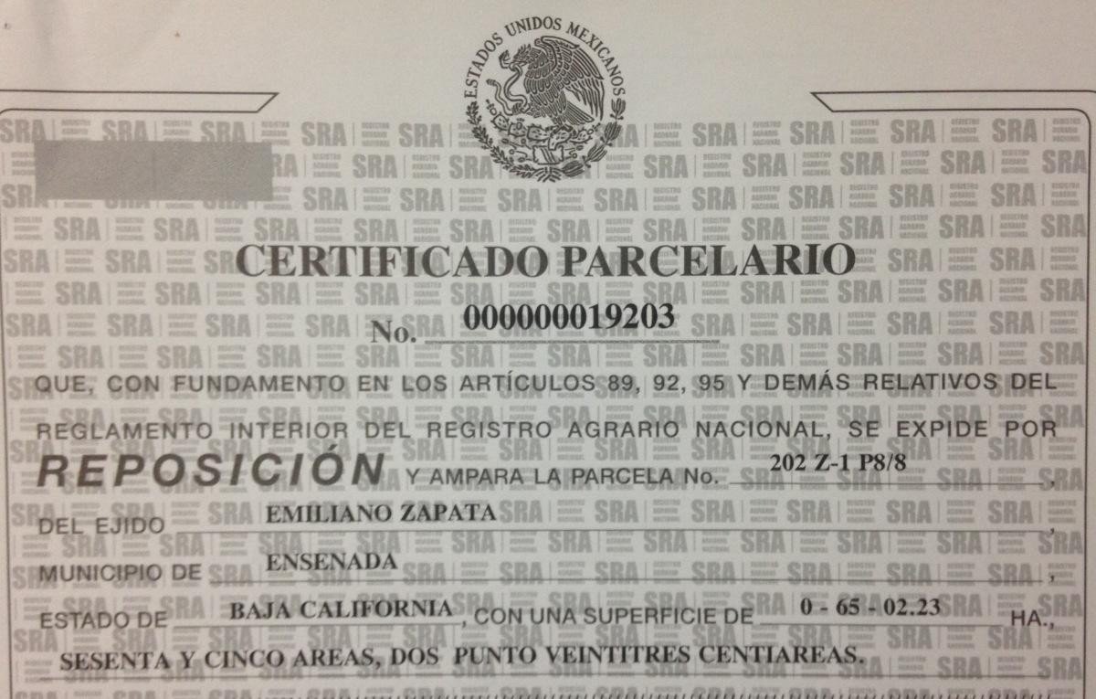 """4 ventajas de mantener tu propiedad con """"CERTIFICADO PARCELARIO"""""""